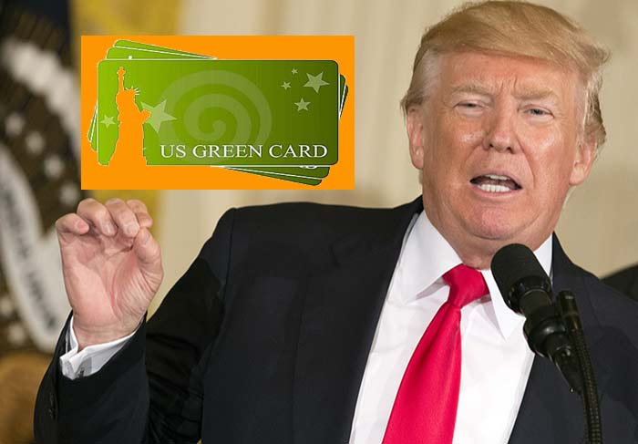 Дональд Трамп vs Green Card