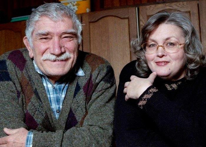 Армен Джигарханян и Татьяна Власова