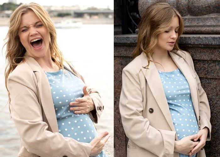беременная Алина Ланина
