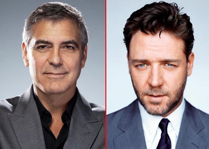 Джордж Клуни vs Рассел Кроу