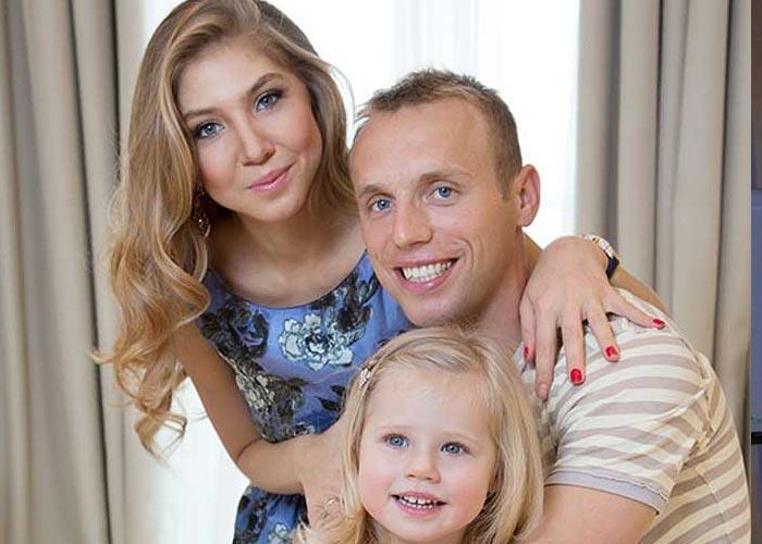 Денис Глушаков и бывшая жена