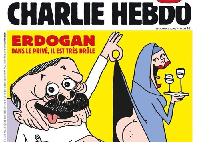Charlie Hebdo карикатура на Эрдогана