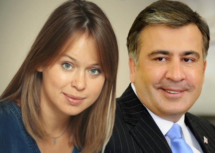 Михаил Саакашвили и Елизавета Ясько