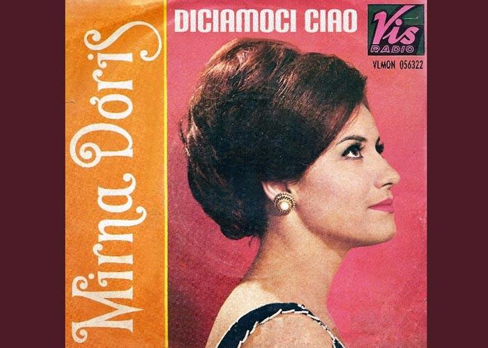 итальянская певица Мирна Дорис