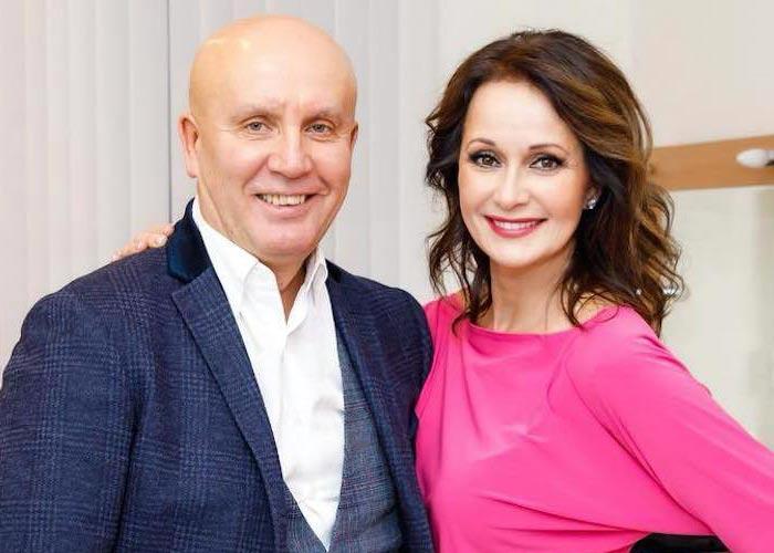 Ольга Кабо и Николай Разгуляев
