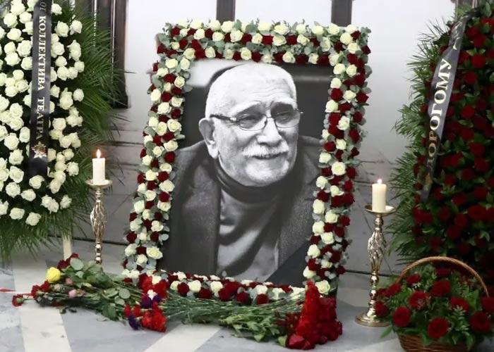 похороны Армена Джигарханяна