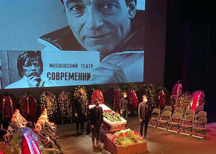 похороны Валентина Гафта