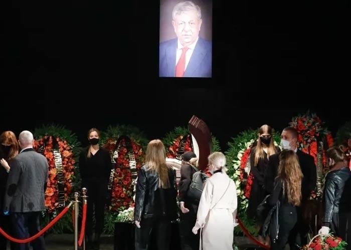 Похороны Михаила Борисова