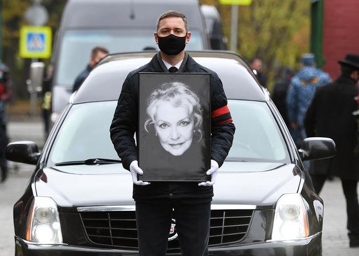 Похороны Ирины Скобцевой