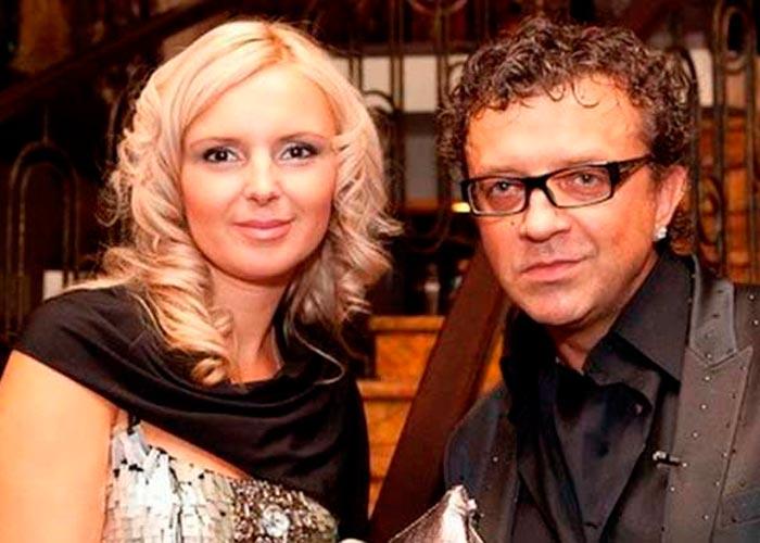 Рома Жуков и жена Елена