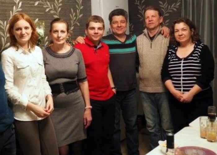 Семья погибшего Сергея Захарова