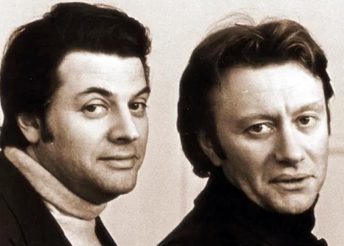 Александр Ширвиндт и Андрей Миронов