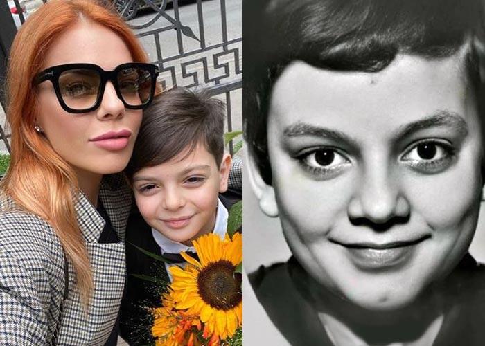 Сын Анастасии Стоцкой и Филипп Киркоров в детстве