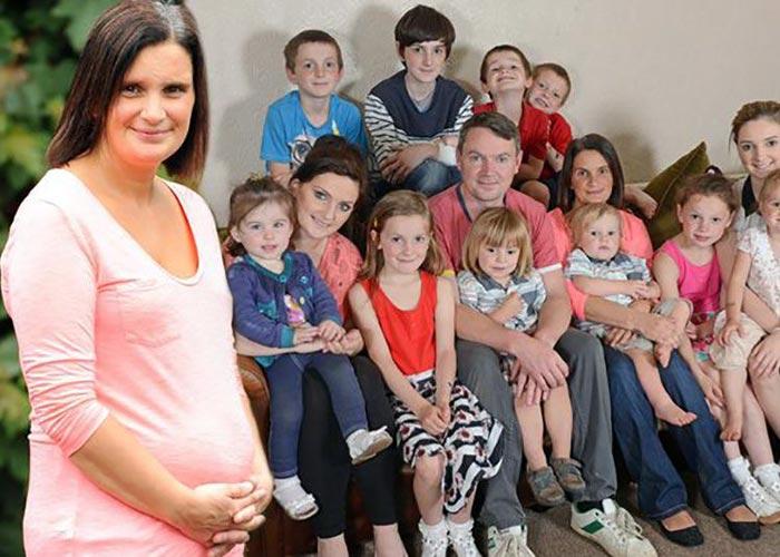 Сью Рэдфорд и дети