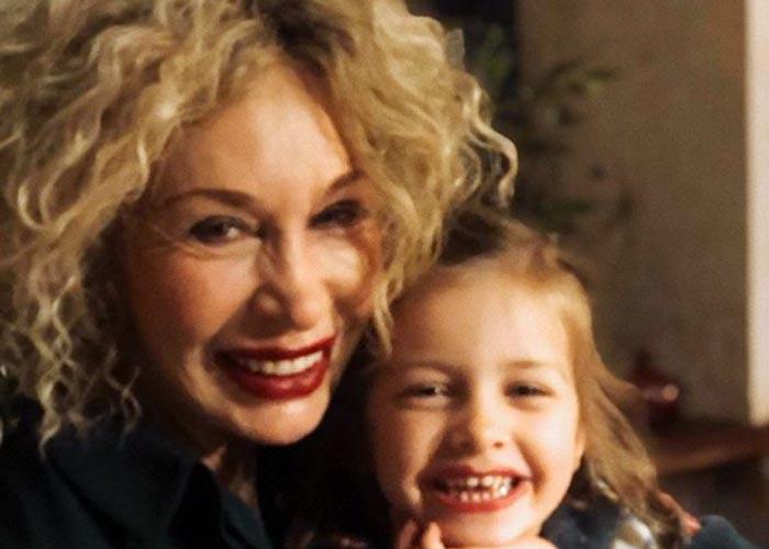 Татьяна Васильева и внучка