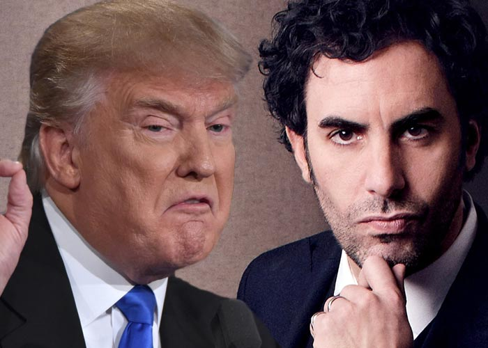 Дональд Трамп vs Саша Барон Коэн