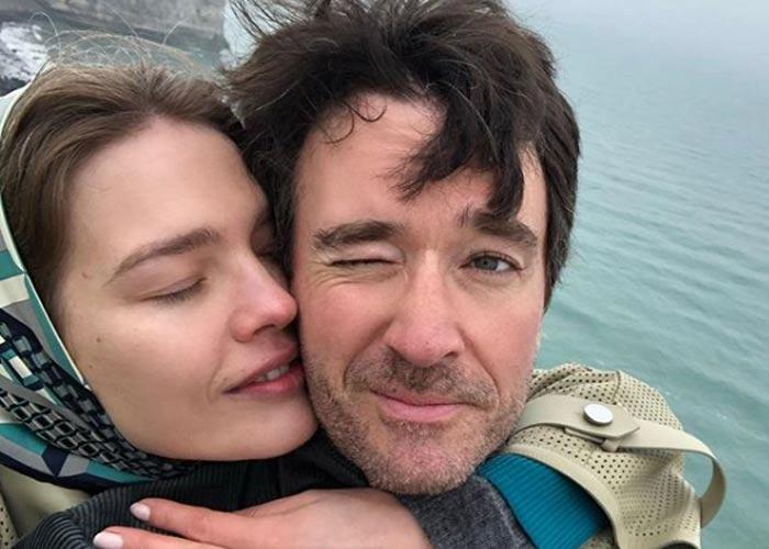Наталья Водянова и Антуан Арно