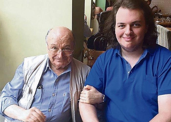Михаил Жванецкий и сын Дмитрий
