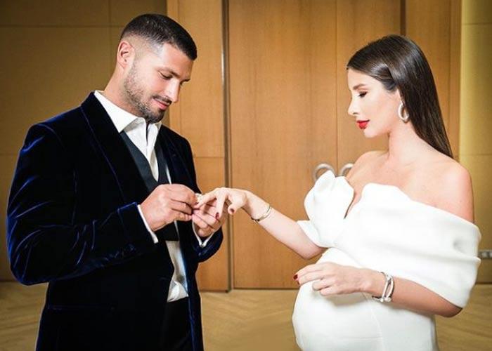 беременная Кети Топурия свадьба