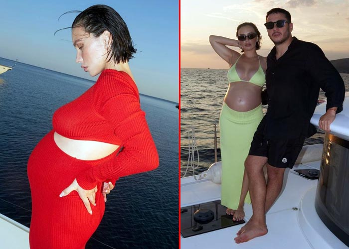 беременная Ольга Серябкина