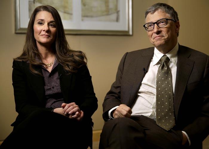 Билл Гейтс и жена Мелинда
