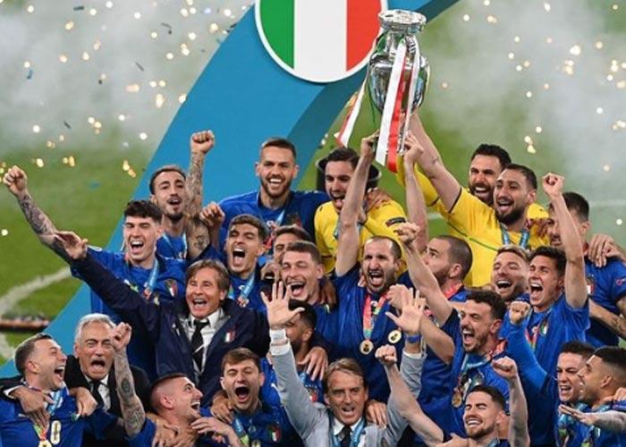 Италия чемпион Европы 2020 года