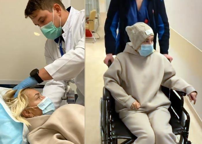 Лера Кудрявцева на инвалидной коляске