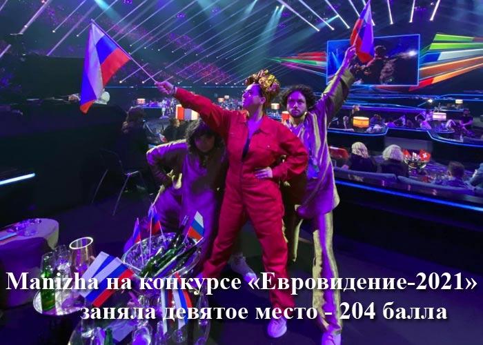 Manizha голосование Евровидение 2021