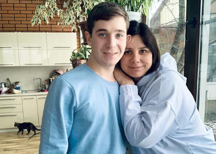 Марина Балмашева и муж Вова
