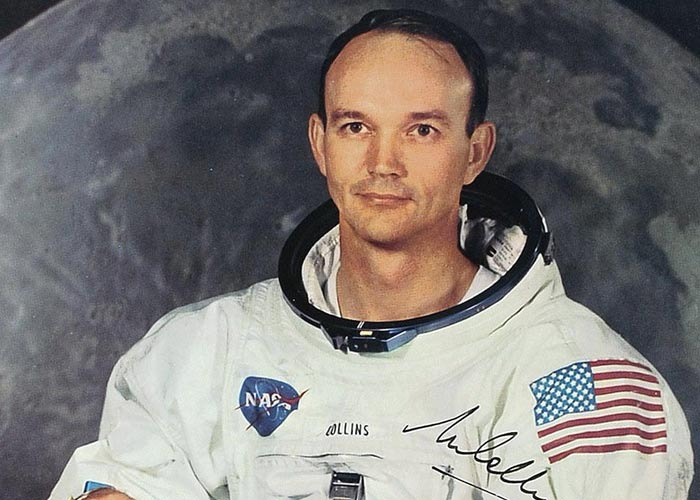 астронавт Майкл Коллинз