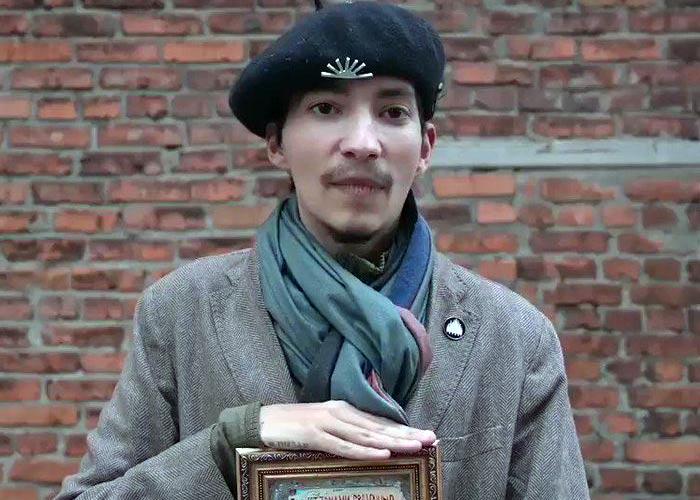 Акционист Павел Крисевич