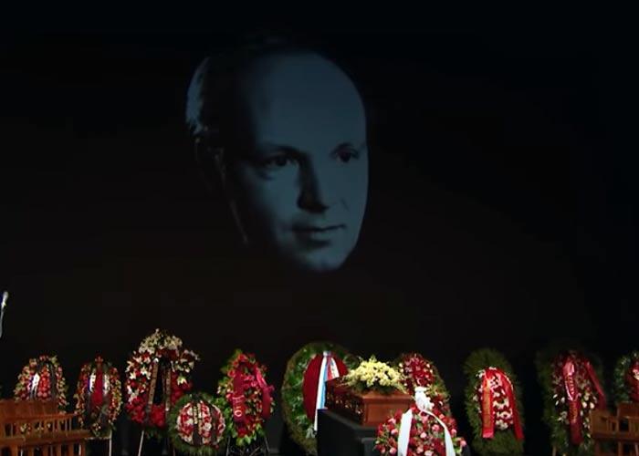 Похороны Андрея Мягкова