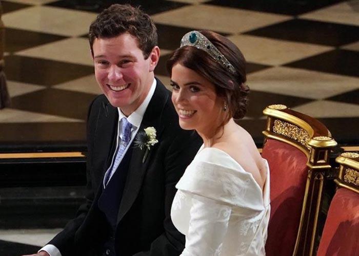 Принцесса Евгения Йоркская с мужем