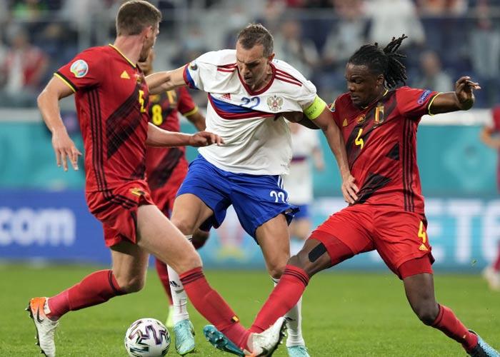 Евро-2021 Россия Бельгия