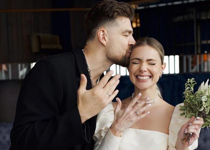 Сергей Мезенцев и Марианна Елисеева свадьба