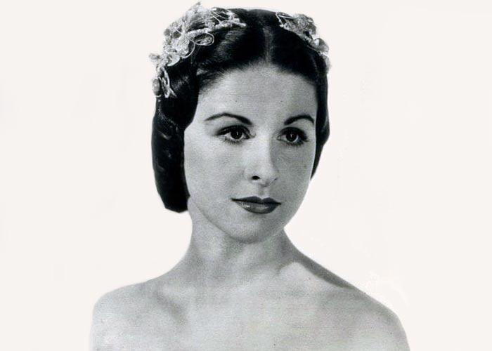 балерина Виолетта Прохорова
