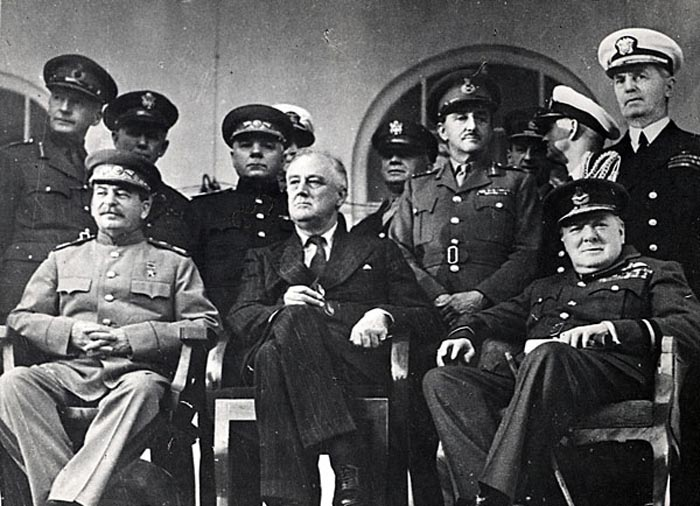 Тегеранская конференция глав правительств трёх союзных держав СССР