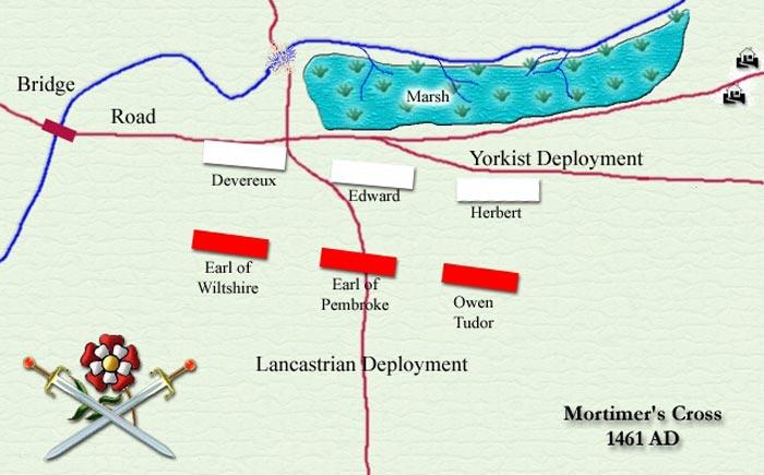 битва при Мортимерс-Кросс