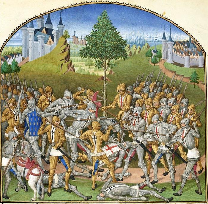 Битва тридцати 1351 год