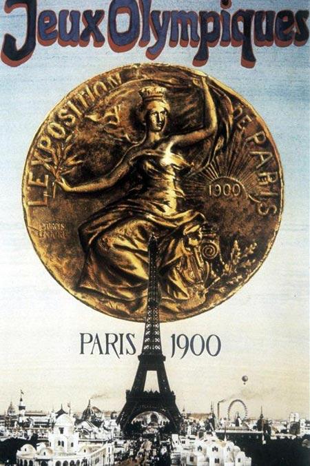 Эмблема II Летние Олимпийские игры 1900 года