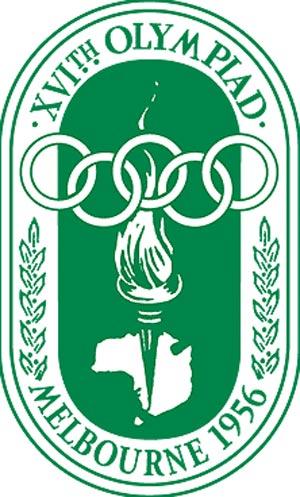 Эмблема XVI летние Олимпийские Игры 1956