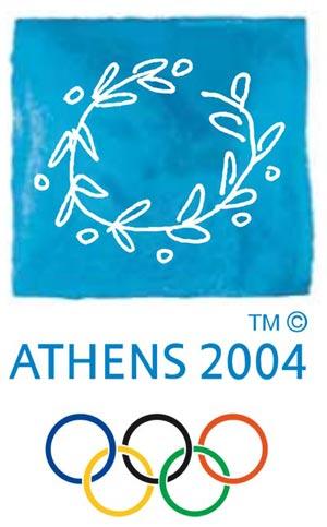 Эмблема XXVIII летние Олимпийские игры в Афинах 2004