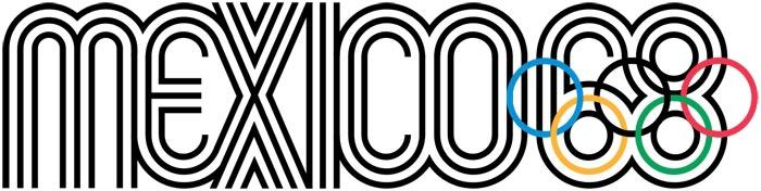 Эмблема XIX Летние Олимпийские Игры 1968