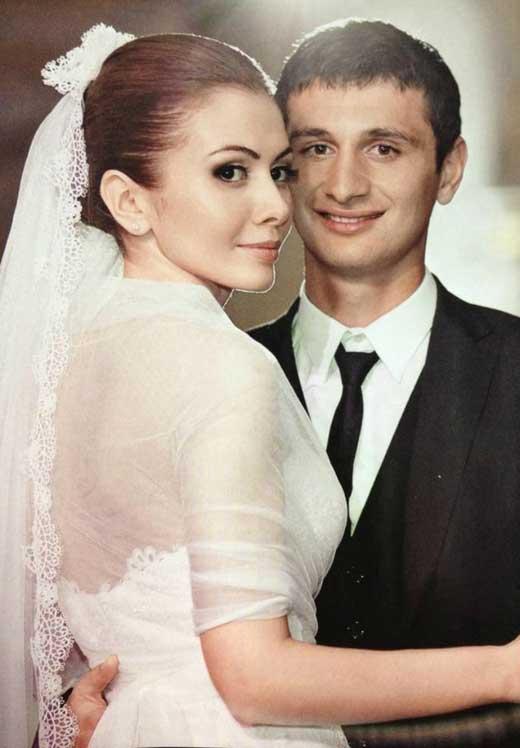 Алан Дзагоев и жена Зарема 1