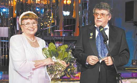 Александр Ширвиндт с женой 2