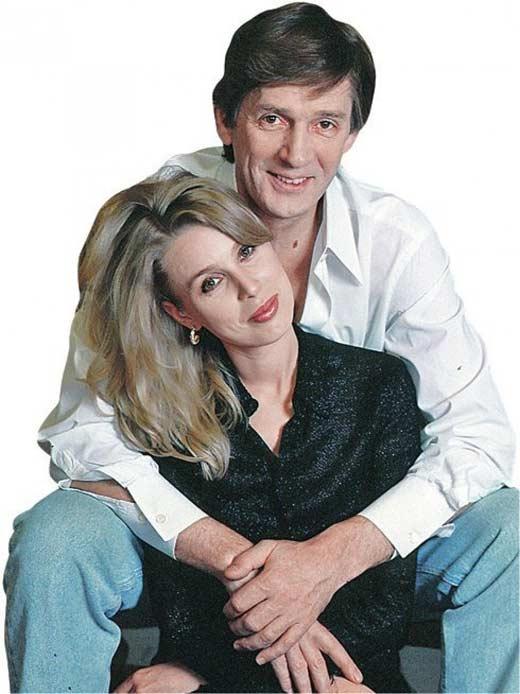 Александр Абдулов и Галина Лобанова