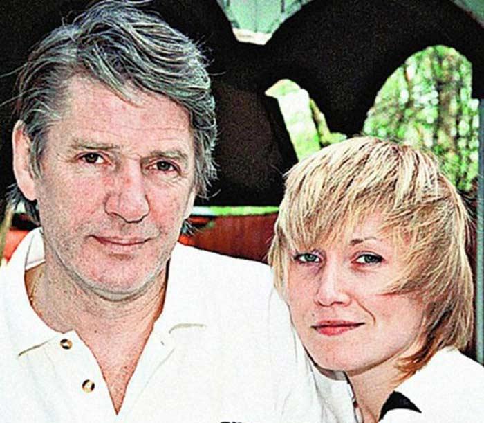 Александр Абдулов и Лариса Штейнман