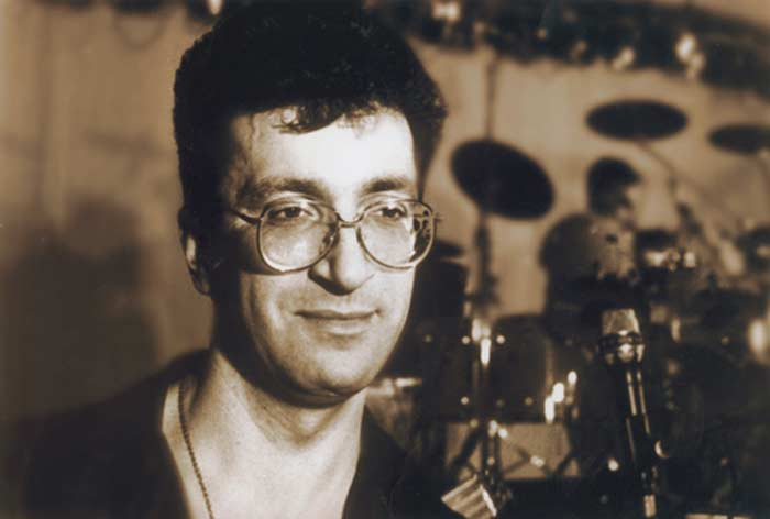 Александр Буйнов в молодости