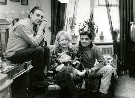 Александр Лазарев младший с родителями