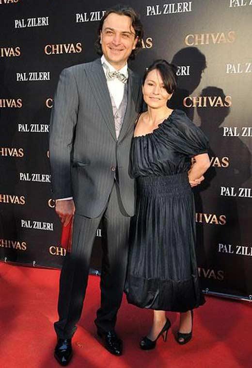 Александр Лазарев младший с женой Алиной 2